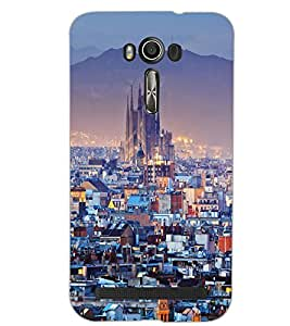 ASUS ZENFONE 2 LASER ZE500KL CITY VIEW Back Cover by PRINTSWAG