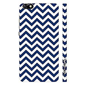 Huawei Honor 4X CHEVRON WAVE designer mobile hard shell case by Enthopia