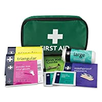 Reliance Medical HSE 1 Person First Aid Kit in Small Green Pouch 7