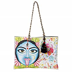 The House of tara Womens Handbag (Multi Colour)