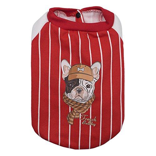 Gogo niedlich Hund Hoodies Haustier Hund Kleidung, Cool Bulldog Bekleidung Valentinstag Geschenk für Hunde, Hund - Niedliche Hunde-outfits