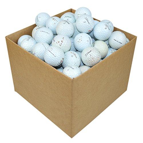 Titleist Pro V1–Balles de Golf de récupération, Grade B Lot de 100) blanc