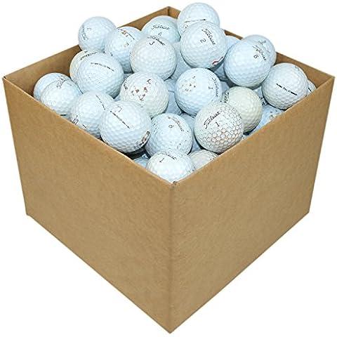Titleist, Set di palline da golf Pro V1 Lake, Bianco (White), 100 pz.
