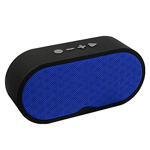 Bluetooth-Lautsprecher Außenlautsprecher Mini Bequeme Audio-Karte@Blau (Boost Telefone Mobile Blau)