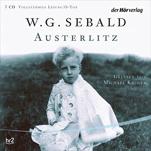 Buchseite und Rezensionen zu 'Austerlitz' von W. G. Sebald