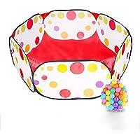 Preisvergleich für Kinder Ball Pit Ball Zelt Kleinkind Ball Pit mit Red Zippered Aufbewahrungsbeutel für Kleinkinder Haustiere (Bälle nicht inbegriffen)