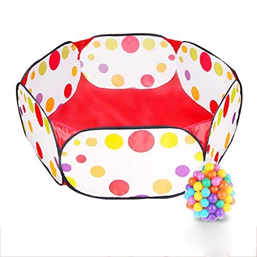 Bola de pelota para niños Bola de pelo para niños pequeños con bolsa de almacenamiento con cremallera roja para niños pequeños Mascotas (pelotas no incluidas)