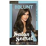 #10: BBLUNT Salon Secret High Shine Creme Hair Colour, Natural Brown 4.31, 100g with Shine Tonic, 8ml