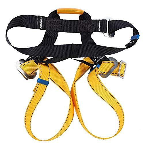 Bnineteenteam Imbracatura per Arrampicata, Cintura di Sicurezza Esterna per Arrampicata su Roccia, Cintura di Sicurezza per Imbracatura per la Cavalcata di Salvataggio in Alpinismo