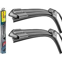 Bosch - Limpiaparabrisas Aerotwin Plus + solución limpiaparabrisas Wurth