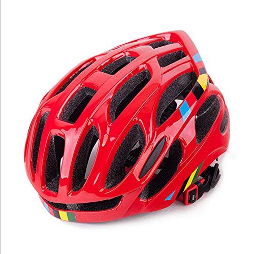 Preisvergleich Produktbild Kinder Fahrradhelm, Protec Helm Kinder, Einstellbarer Leichter Kindersicherheitshelm Für Fahrräder, Ski, Skateboards, Mountainbikes, 3-13, Kinder, Rot