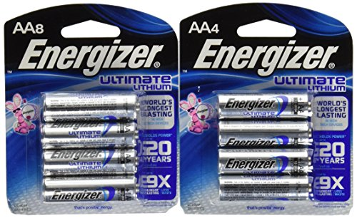 Energizer Ultimate Lithium AA - 12 Stück. Aaa 8 Energizer