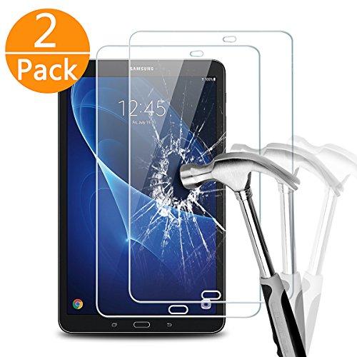 2 x Samsung Galaxy Tab A 10.1 Panzerglas, Melojoy Gehärtetem Glas Samsung Galaxy Tab A 10.1 Schutzfolie Folie