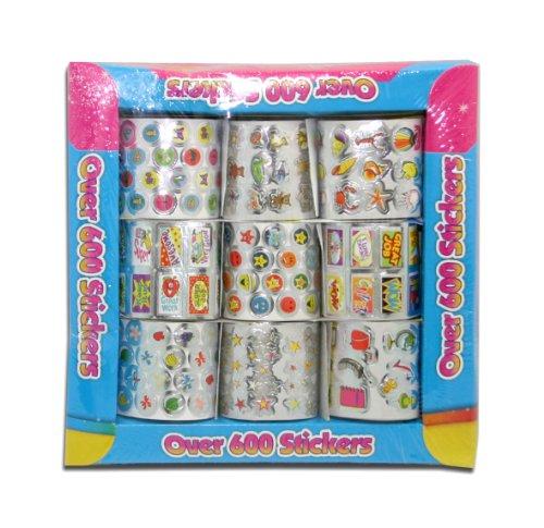 artbox-6229-set-de-pegatinas-600-unidades-multicolor