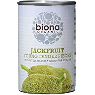 Biona Organic Young Jackfruit in salted water 400g (Pack of 6)