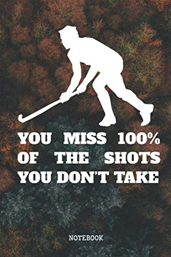 Notebook: Pro Field Hockey Player Planner / Organizer / Lined Notebook (6