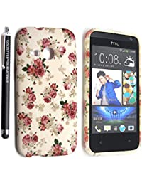 GSDSTYLEYOURMOBILE{TM} HTC ONE MINI 2 M8 MINI SILICONE SILIKON CASE SKIN GEL TPU Hülle COVER + STYLUS