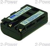 2-Power DBI9563A batería para cámara/grabadora Ión