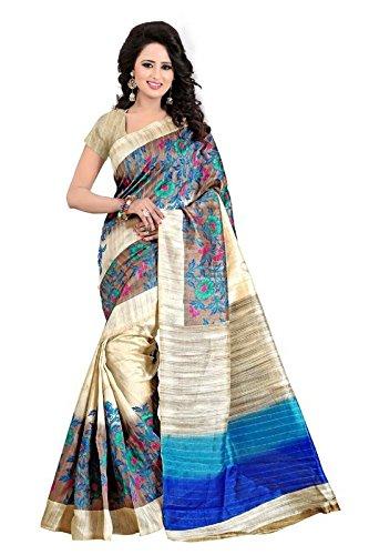 PALKAANO Women\'s Bhagalpuri Art Silk Saree (banjaran saree_Free Size)