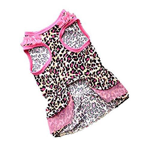 Gruppe Kostüm Nette - Liuliangmei Mode-Haustier-Puder-Garn-Gruppe, Kleider Für Hund, Haustier Kleidet Sommer, Kleine Hundekatze-Haustier-Kleidung, Material: 95% Polyester, 5% Spandex,XS