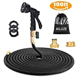 100ft Garden Hose - All New Expandable Garden Water Hose Pipe with Double