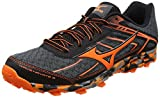 Mizuno Herren Wave Hayate 3 Traillaufschuhe, Schwarz (Dark Shadow/Clownfish/Black), 45 EU