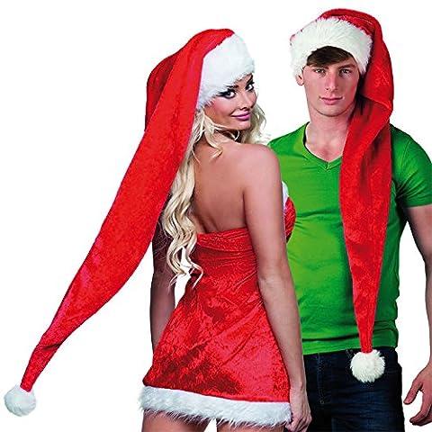 Bonnet de Père Noël long XXL