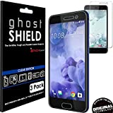 TECHGEAR® [3 Pack] Protection Écran pour HTC U Play [ghostSHIELD] Film de Protection Souple en TPU avec Protection Totale de l'Écran Compatible pour HTC U Play [Protection 3D Bords Incurvés]
