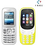 I Kall K16 New And K3310 1.8 Inch Mobile Combo (White + Yellow)