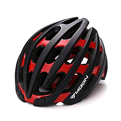 Qarape Profession Bike Helmet with Safety Light Adjustable Sport Cycling Helmet Bike Bicycle Helmets for Road & Mountain Biking Motorcycle Safety Protective Outdoor Sports Helmet for Adult Men Women from Qarape