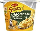 Maggi 5 Minuten Terrine Kartoffelbrei  mit Rosmarin & Croutons, 8er Pack (8 x 53 g)