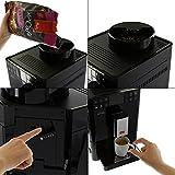 Melitta F53/1-102 Platzsparender Kaffeevollautomat Caffeo Passione One Touch, Milchbehälter, Schwarz -