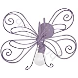 MOTYL I / Schmetterling Lavendel Wandleuchte Wandlampe Lampe Kinderzimmerleuchte Kinderzimmerlampe