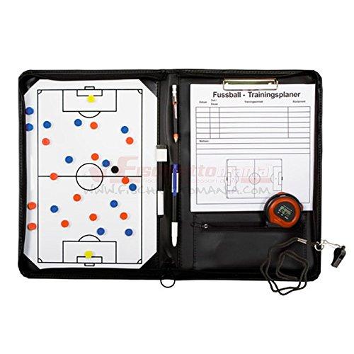 b+d Set lavagna per allenatore di calcio con accessori