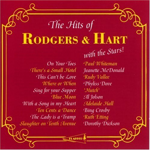 The Hits Of Rodgers & Hart by Various Artists (1992-09-01)