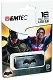EMTEC USB2.0M70016GB Batman Superman 16Go USB 2.0Type-A Gris Lecteur Flash USB Clé USB (USB 2.0, Type-A, Pen, Gris, Multicolore, Ampoule)