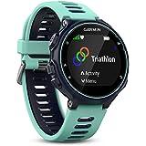Garmin Forerunner 735XT - Montre GPS Multisports avec Cardio Poignet - Bleu et Vert d'Eau