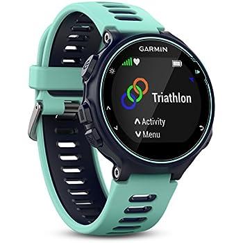 Garmin Forerunner 735XT GPS Multisport and Running Watch - Midnight Blue/Frost Blue