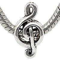 Charm Buddy Musical Note Treble Clef Charm for Charm Bracelets Charms Sale Jewellery