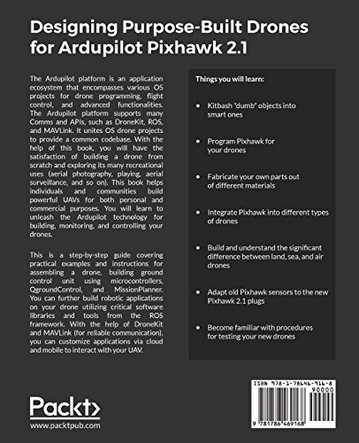 Designing Purpose-Built Drones for Ardupilot Pixhawk 2.1: Build drones with Ardupilot