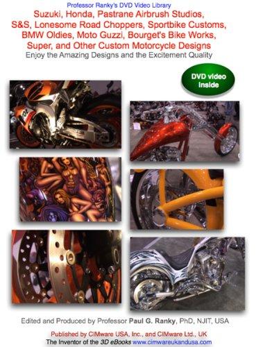 Suzuki, Honda, Pastrane Airbrush Studios, S&S, Lonesome Road Choppers, Sportbike Customs, BMW Oldies, Moto Guzzi, Bourget's Bike Works, Super, and ... ... and the Excitement Quality [UK Import] - Airbrush Dvd