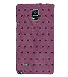 Samsung Galaxy NOTE 4 MULTICOLOR PRINTED BACK COVER FROM GADGET LOOKS