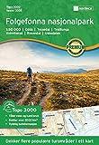 Wanderkarte Norwegen | Folgefonna Topo 3000 1:50 000
