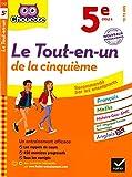 Chouette Le Tout-en-un 5e : nouveau programme (Chouette Entraînement Collège) (French Edition)