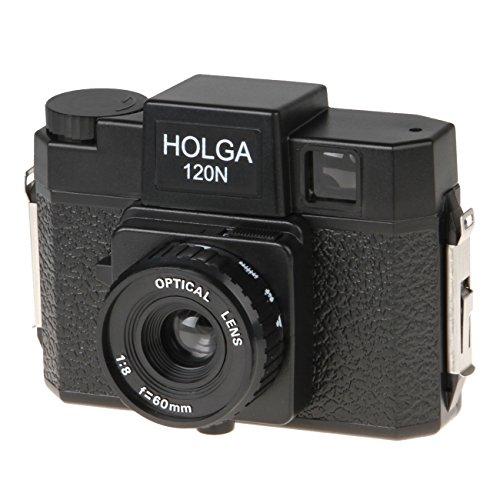 B.I.G. Holga 120N Kamera schwarz