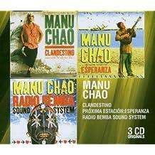 Coffret 3 CD : Clandestino / Proxima Estaçion Esperanza / Radio Bemba Sound System
