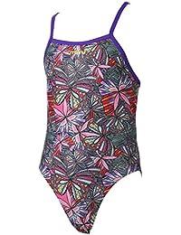 eaa8abaa03 Maru Swallowtail Girls Sparkle Flyback Swimsuit