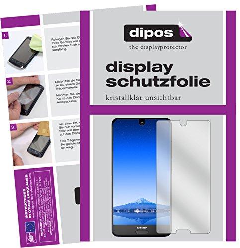 Sharp Aquos S2 Schutzfolie - 6x dipos Displayschutzfolie Folie klar