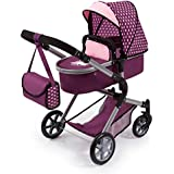 Bayer Design Cochecito de Muñecas City Neo, Convertible, Color Rosa (18137AA)