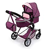 Bayer Design - Cochecito De Muñecas City Neo, Convertible, Color Rosa (18137AA)